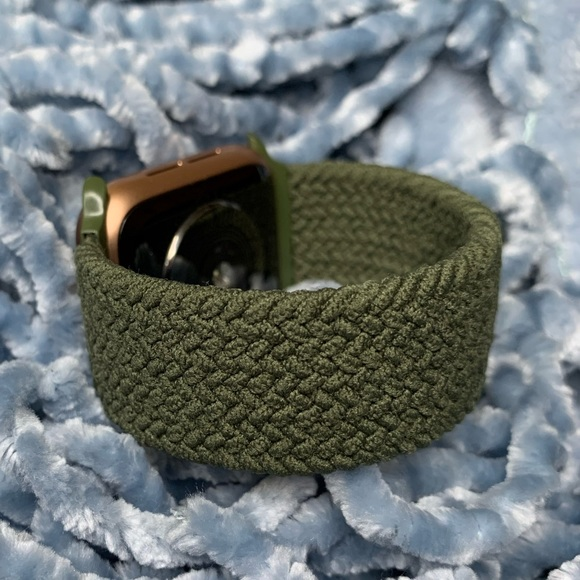 ✨42-44mm Olive Green nylon band for Apple Watch